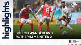 Болтон  0-2  Ротерем Юнайтед видео