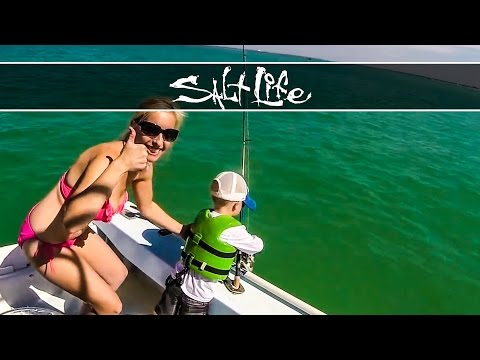 3-Year-Old Catches a Shark!!! | Kellan Hunt
