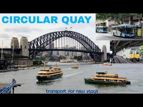Transport for NSW Vlog No.1112 Circular Quay - Multi Mode