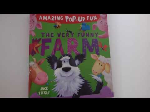 Amazing Pop Up Fun The Very Funny Farm Book