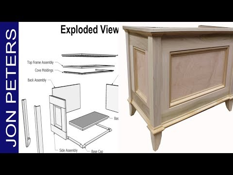 Make a Blanket Chest - New Professional Free Plans for Jon Peters Woodworking Projects