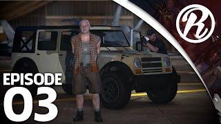 [GTA5] THE HUNT OP DE LEGERBASIS!! - Royalistiq | The Hunt #3