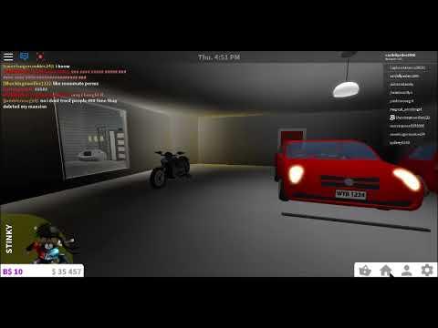 Buying The Motorcycle In Bloxburg Youtube