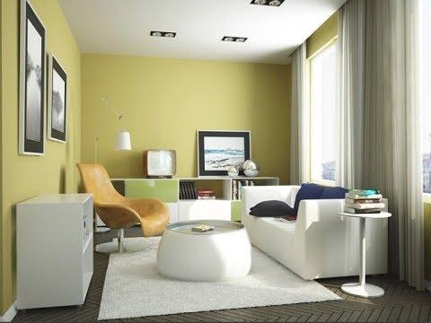 Desain Kombinasi Warna Cat Ruang Tamu Sempit