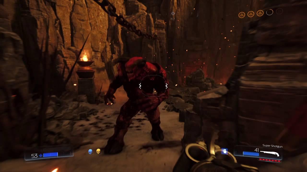 Baron Of Hell Glory Kill Doom 2016 Youtube