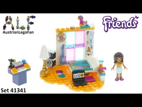 Lego Friends 41341 Andreas Bedroom Lego Speed Build