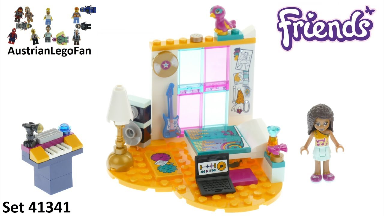 Lego Friends 41341 Andreas Bedroom Lego Speed Build Review