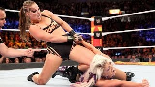 WWE Live London results Ronda Rousey wows fans in UK debut as The Shield battle Braun Strowman