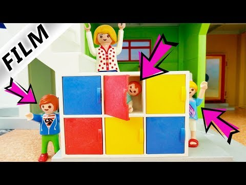 Playmobil Film Deutsch EXTREMES VERSTECKEN IN DER SCHULE MIT FAMILIE VOGEL! HIDE AND SEEK Kinderfilm