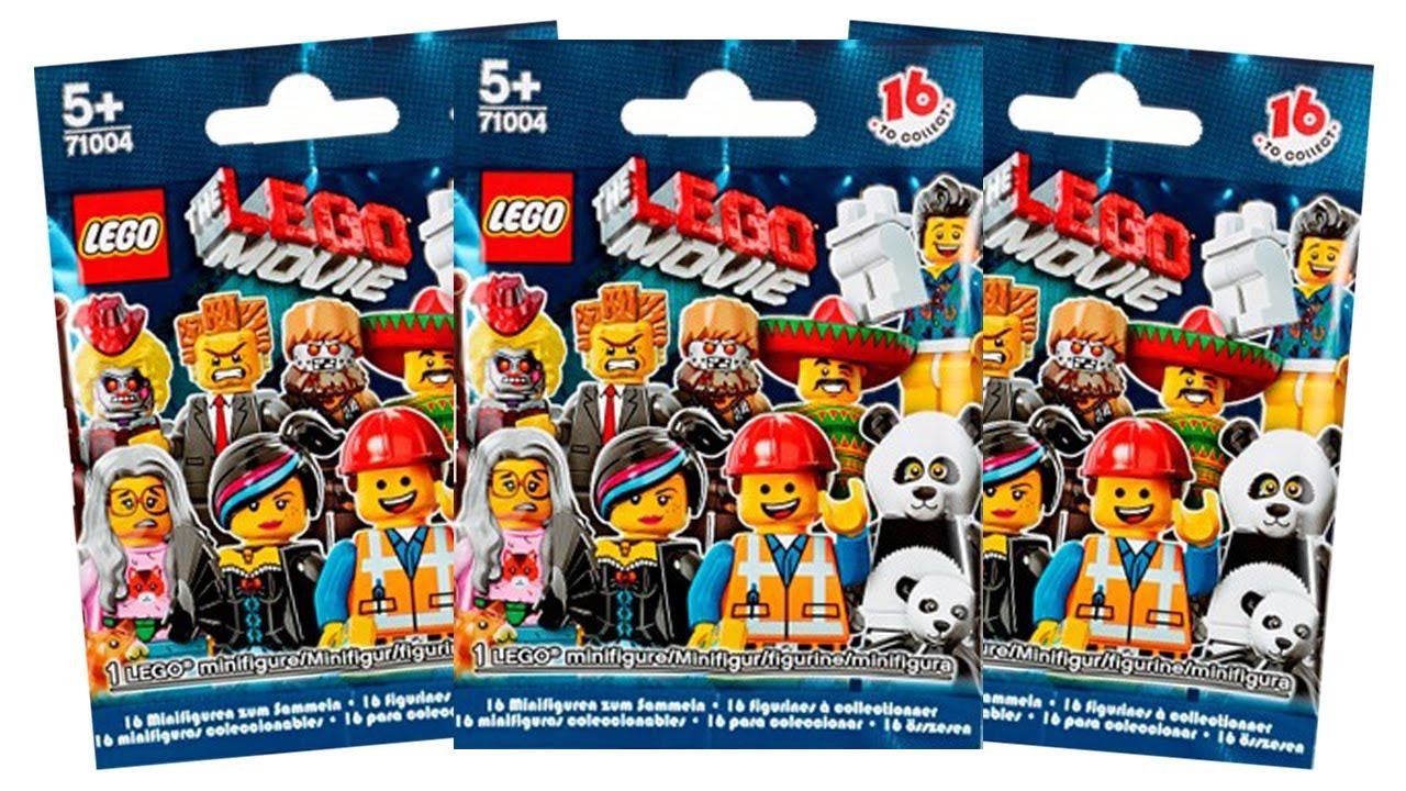 Winner Lego Movie Minifigure Mystery Pack Youtube
