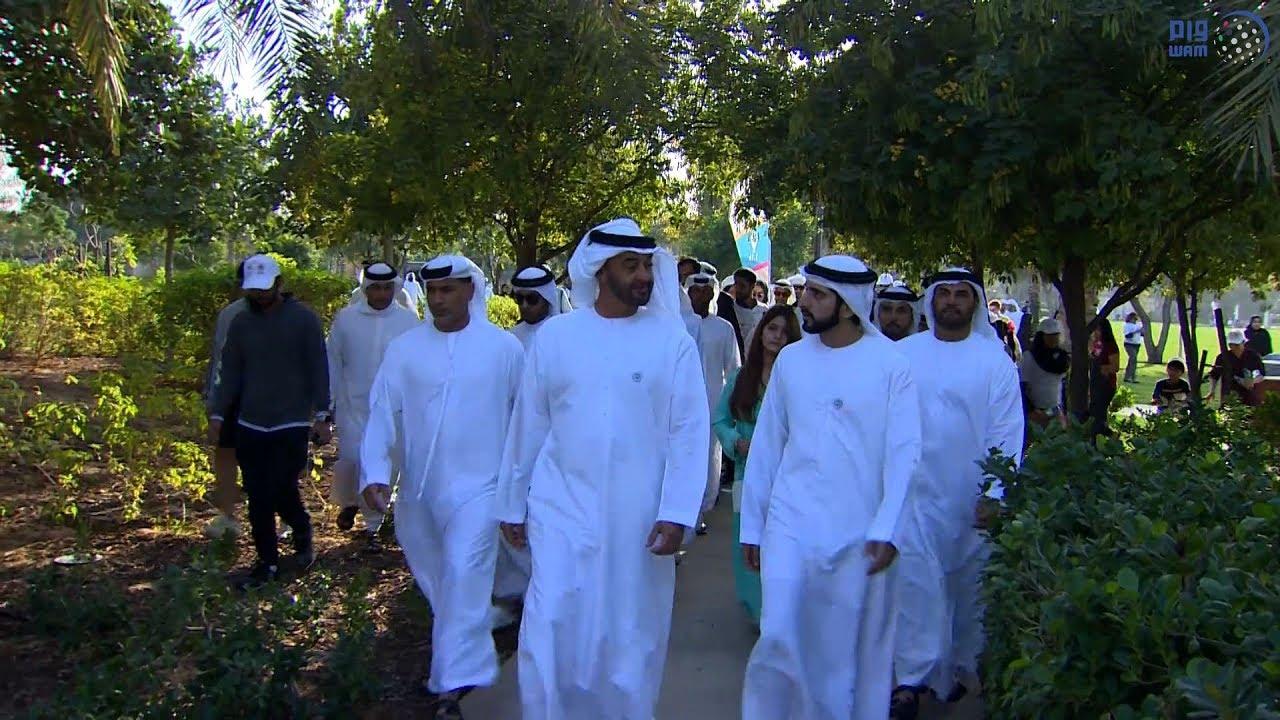 09d5e52a9 محمد بن زايد وحمدان بن محمد يشاركان في مبادرة