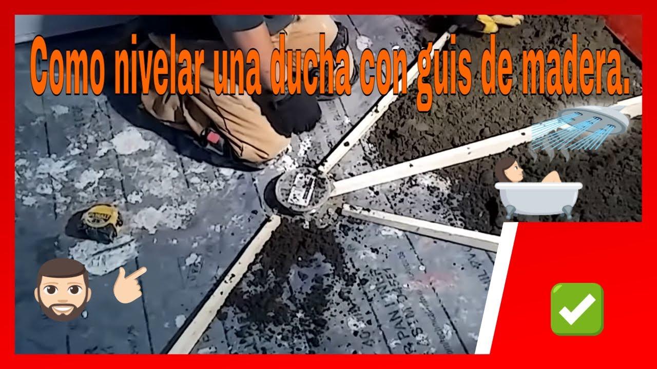 Como nivelar el piso de la ducha con mortero dallas texas for Como arreglar una gotera en la regadera