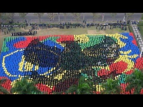 OSPEK UB Raja Brawijaya 2017 | Koreografi Umbrella Mob MABA UB 2017
