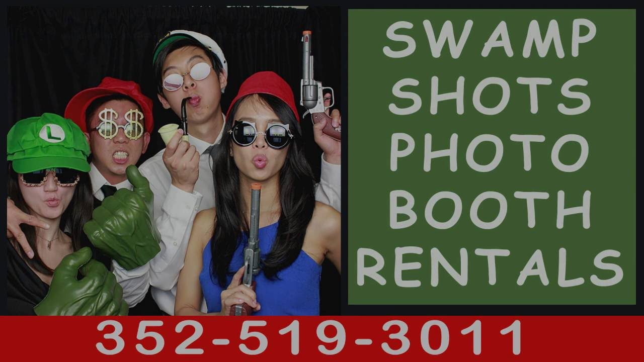 Sw& Shots Photo Booth Rentals Gainesville Fl | Reviews ?  sc 1 st  YouTube & Swamp Shots Photo Booth Rentals Gainesville Fl | Reviews ? - YouTube