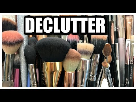 DECLUTTER | Makeup Brushes