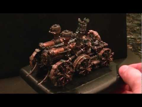 Closer Look- Chaos Dwarf Engines of Horribleness