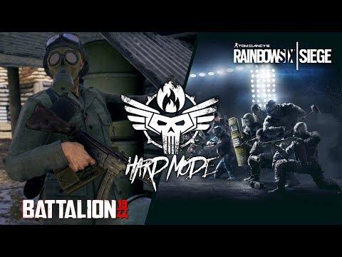 MÁSODIK VILÁGHÁBORÚ IS ON! | Battalion /w Hard Mode #HASZARR6S - 02.07.
