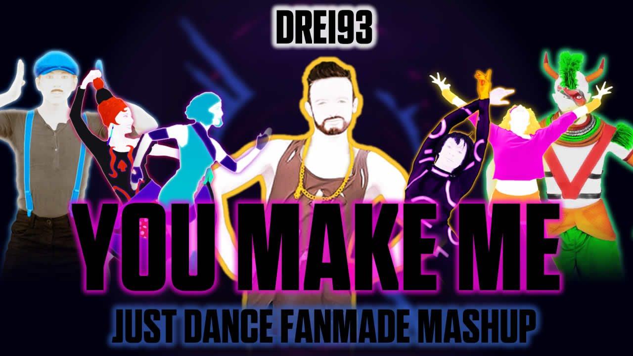 how to make just dance mashups