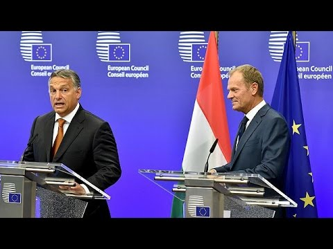 Refugee crisis 'a German problem' says Hungary's Viktor Orba