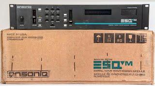 Ensoniq ESQ-M / ESQ-1 (1986) Part 1