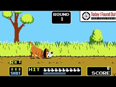 How The Gun On The Original Duck Hunt Worked