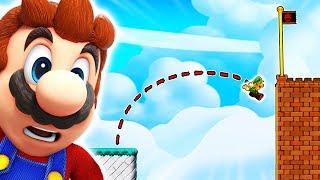 Der 'UNMÖGLICHE' Sprung + Mega Troll Level in Mario Maker 2
