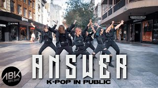 [K-POP IN PUBLIC] ATEEZ (에이티즈) - Answer Dance Cover by ABK Crew from Australia