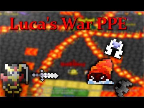 RotMG: UNBEATABLE Warrior PPE Highlights #Luca
