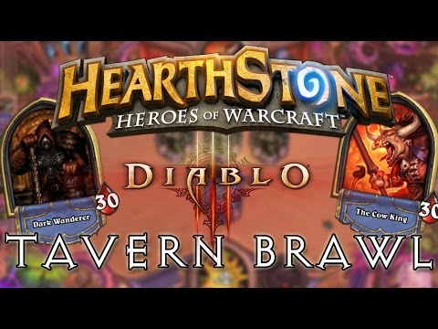 Hearthstone | Diablo Tavern Brawl (The Dark Wanderer Tavern
