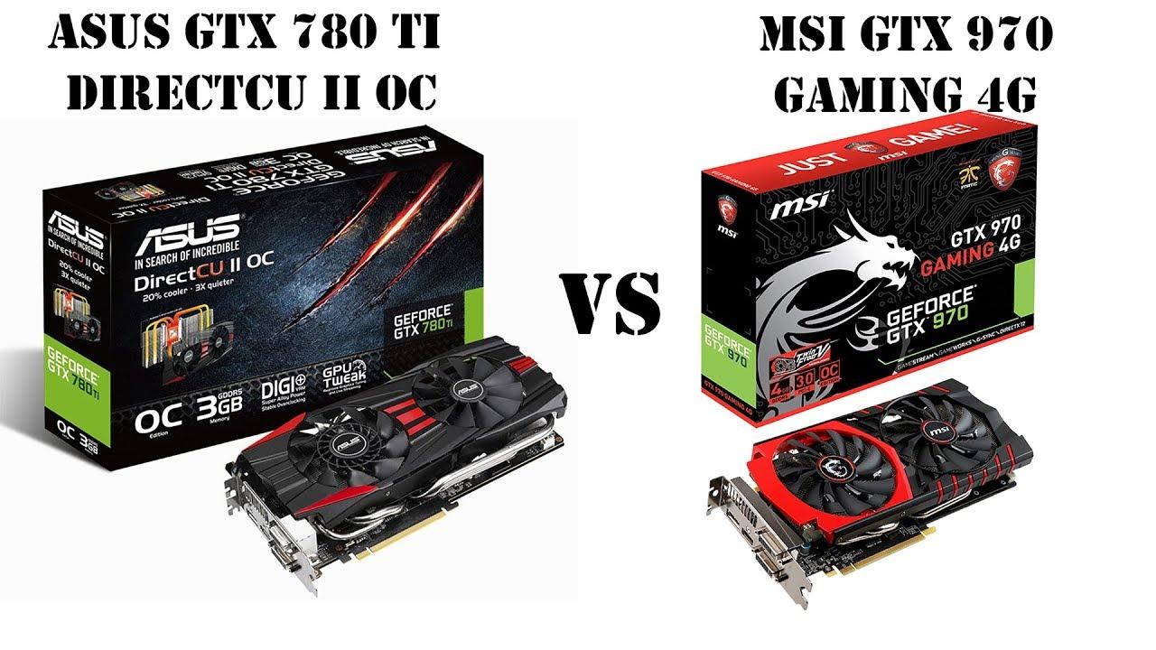 GTX970 vs GTX780 Ti. Выясняем кто на что способен в конце 2017 года