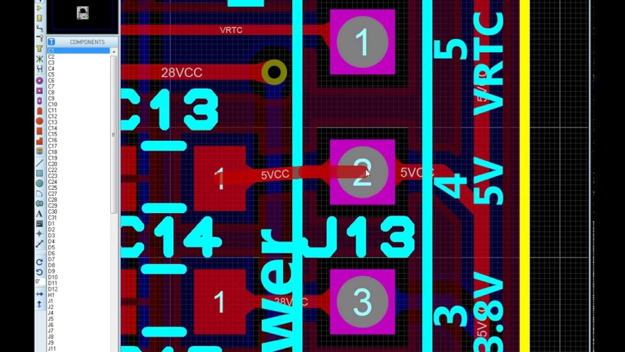 Proteus Pcb Dfinir Une Connexion En Forme De Larme Ares How To Add A Button On Design Multipower Education Pros