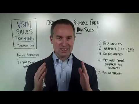Earn WHOPPING Huge Sales - The PATTERN of Referrals
