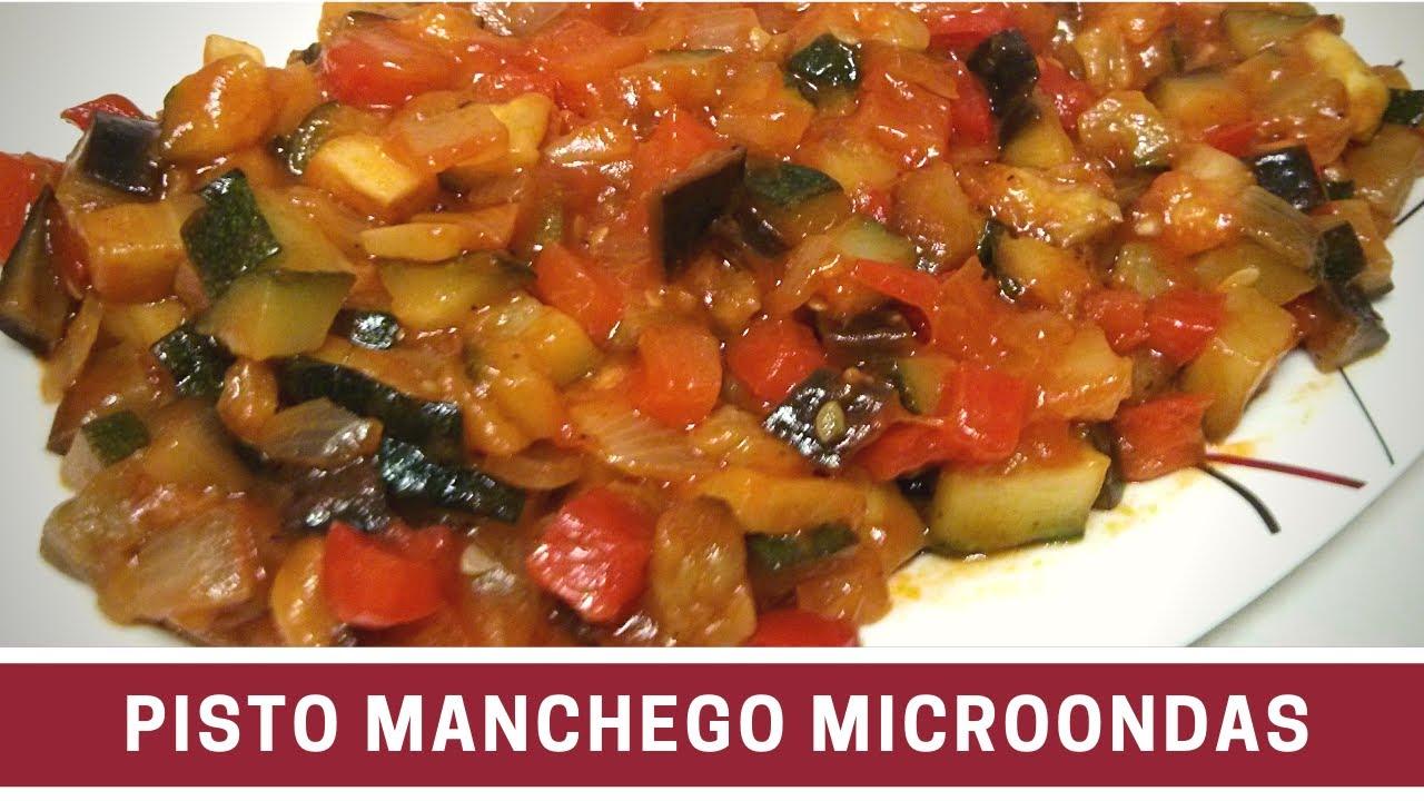 Pisto manchego al microondas cocinar en microondas youtube for Cocinar microondas