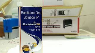 Ranidom-pd (ranitidine) solution and it