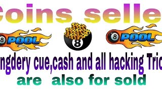 8 ball pool coins seller Lengdery cue,cash,all haking tricks.