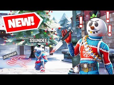 New MURDER MYSTERY Gamemode wSSundee & Friends In Fortnite Battle Royale