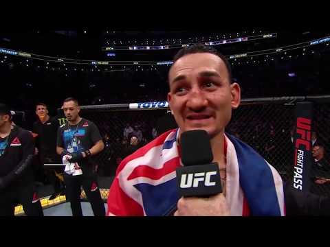 UFC 231: Max Holloway Octagon Interview