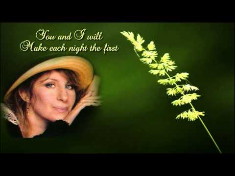 Evergreen + Barbra Streisand + Lyrics/HQ