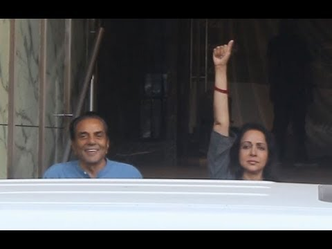 exclusive-:-dharmendra-with-hema-malini-#bollywoodnews2019