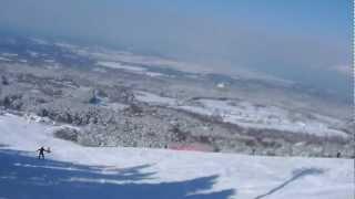 13-01-27 大山桝水高原スキー場 メインコース
