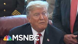 President Donald Trump Gives Lukewarm Condemnation Of White Nationalists | Velshi & Ruhle | MSNBC