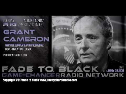 Ep. 698 FADE to BLACK Jimmy Church w/ Grant Cameron : Govt. Disinfo w/ UFO 'insiders' : LIVE