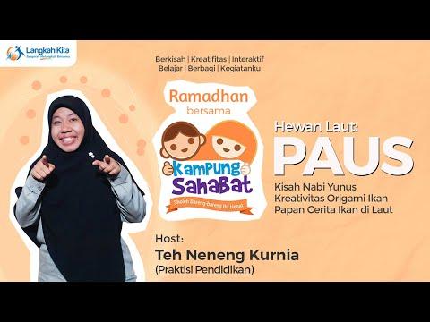 NABI YUNUS & PAUS - Ramadhan Bersama Kampung Sahabat   Serial 1   Teh Neneng, Kak Dewi & Kak Krisna