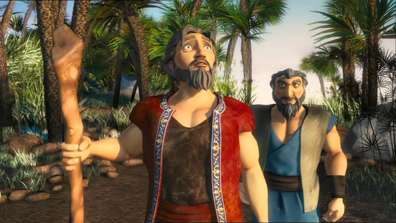 the ten commandments english the holy bible animated movie hd
