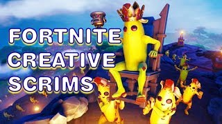 🔴FORTNITE LIVE CREATIVE SCRIMS OPEN LOBBY (VBUCK GIVEAWAY AT 5K)