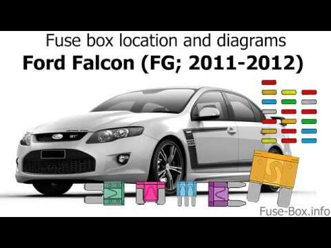 Fuse box location and diagrams: Ford Falcon (FG; 2011-2012) - YouTube | Ford Falcon Fuse Box Diagram |  | YouTube