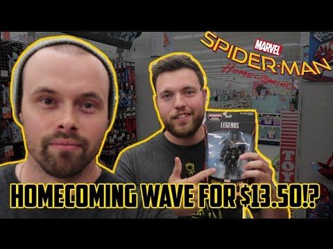 EPISODE 20  TOY HUNTING SPIDERMAN HOMECOMING WAVE ON SALE!!