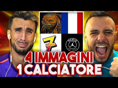 😍 4 IMMAGINI 1 CALCIATORE!   INDOVINA IL CALCIATORE CHALLENGE vs FIUS GAMER
