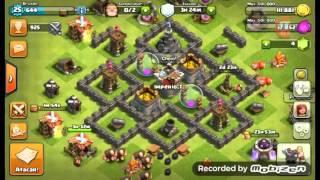 Melhor ataque de guerra clash of clans centro de vila nivel 5 / Melhor ataque de guerra cv baixo