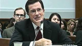 "STEPHEN COLBERT @ Congress: ""Migrant Workers have No Rights!"""